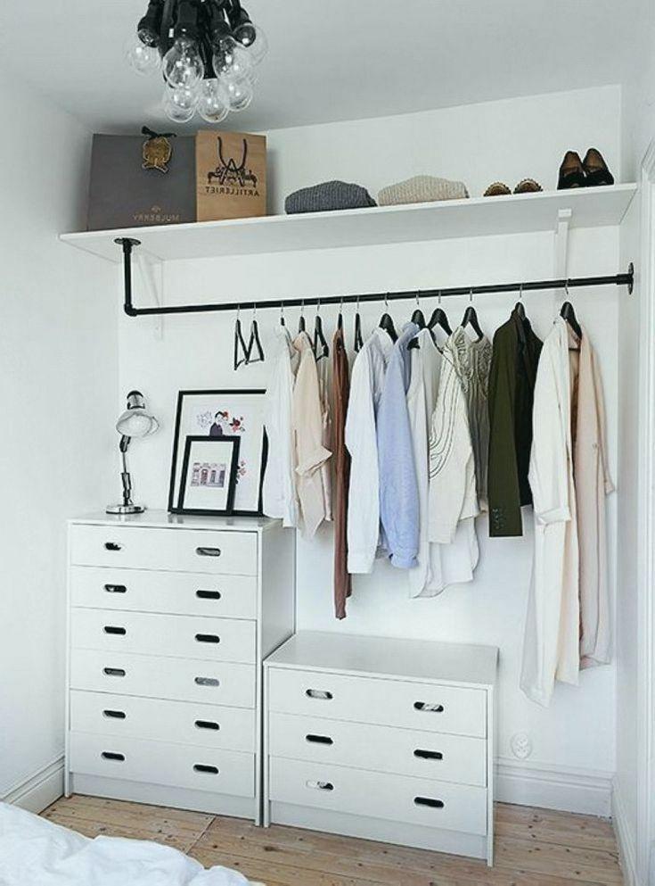 Grossartig Mehr Als Kreative Aber Einfache Ideen Fur Kleidungstrager Schlafzimmer Schrank Ideen Kleiner Schrank Design Ankleidezimmer Selber Bauen