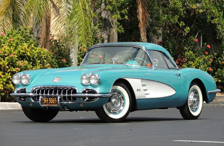 This rare 1960 Chevrolet Corvette (price not listed) will be auctioned off at the Barrett-Jackson event in Palm Beach on April 11-13, 2014.