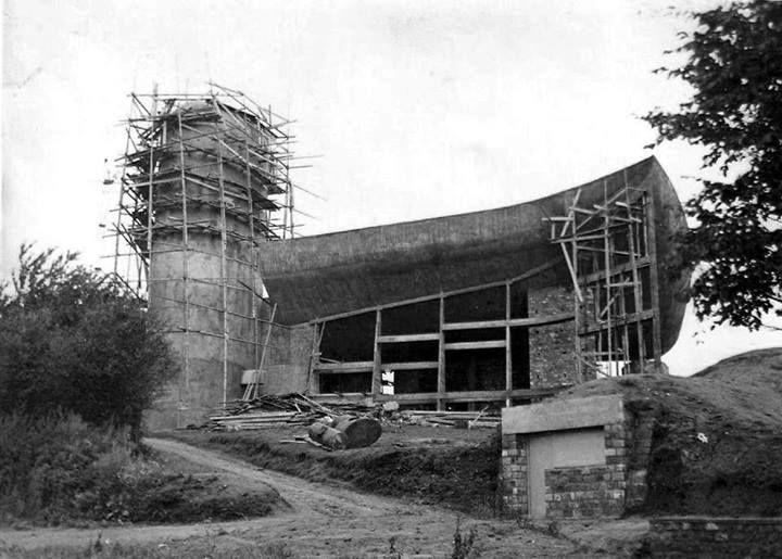 """analogway: """" Ronchamp under construction """""""