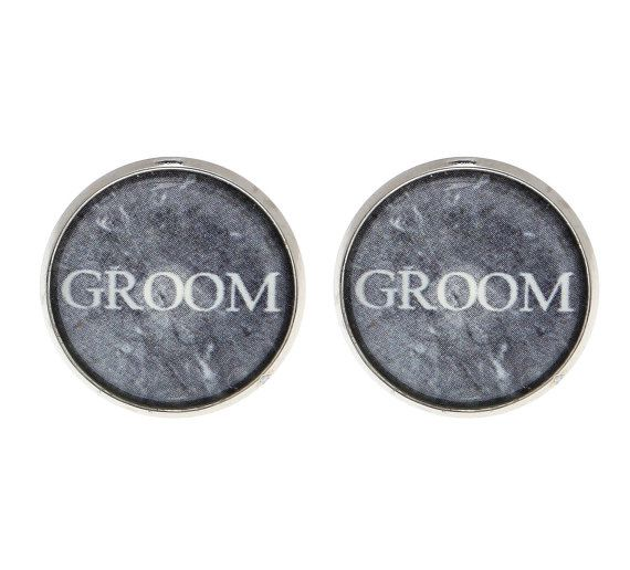 Groom Cufflinks - Cufflinks For Groom - Groom Jewelry - Groom Accessories - Gift For Groom - Wedding Accessories - Wedding Cufflinks $22