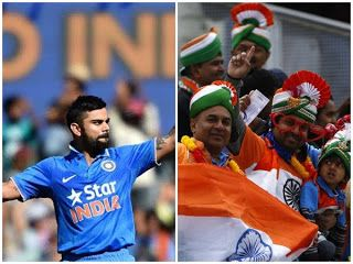 "Blockbuster Match Today 'Champions Troph: Indian fans await Kohli's 'surgical strike' on Pakistan   With India and Pakistan all set to take on each other in the much awaited match today at the Edgbaston Cricket Ground fans of the men in blue in Delhi and Punjab cannot wait for the battle to start and watch their team crush the arch-rivals.  ""Our hopes are high. India has defeated Pakistan many times and I am sure Pakistan will taste defeat this time too. I am going to enjoy Virat's sixes. We…"