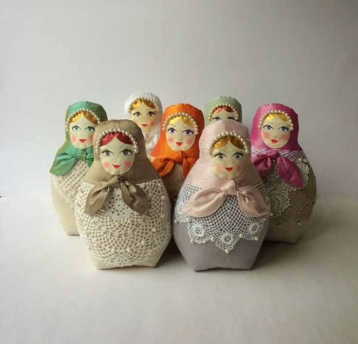 Cherry Garden Dolls: How I have created my babushka dolls