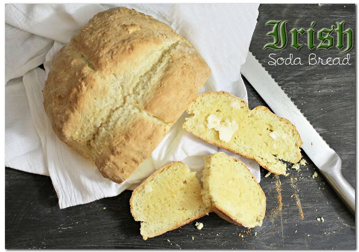 St. Patricks Day Irish Soda Bread {Recipe}