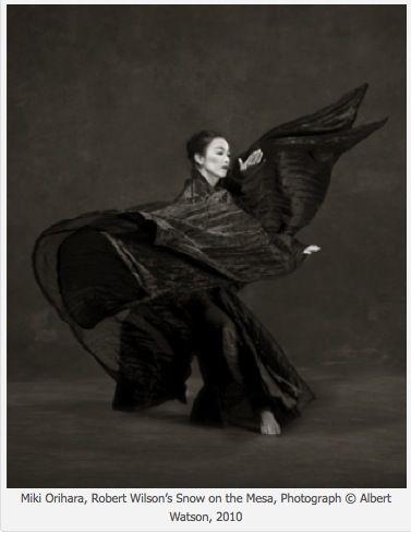 Miki Orihara of Martha Graham Company, Photo by Albert Watson