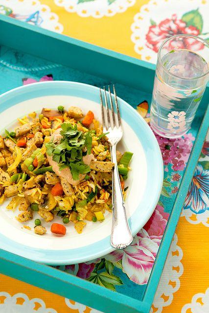 Vegetarische Nasi Goreng - Photo-copy