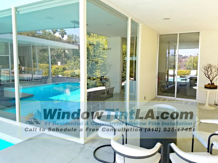 Clear UV film for home