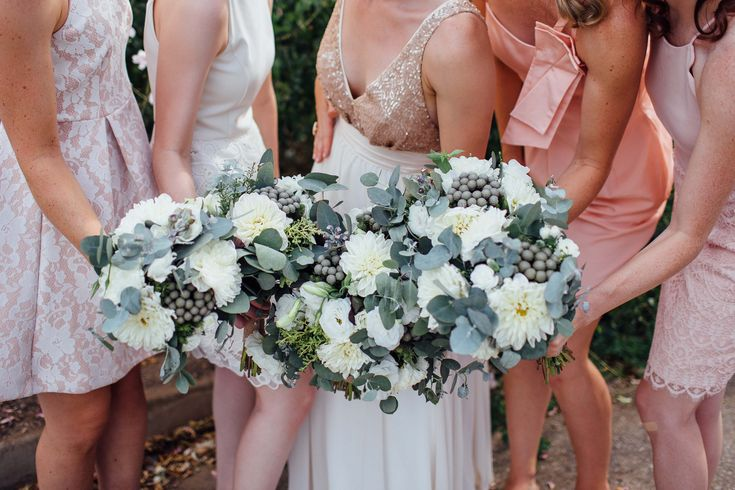Elise & Liam | Adelaide Hills Wedding | Wedding photographer Sonja C Photography | Wedding bouquets