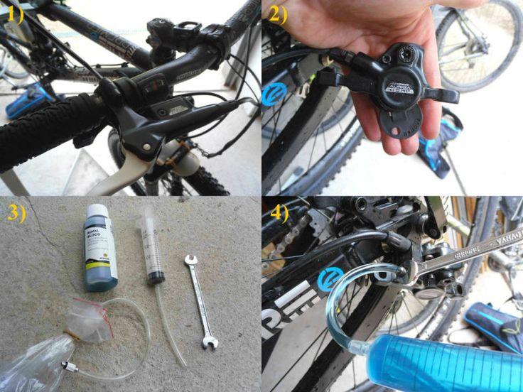 TUTO: Les étapes pour purger des freins Shimano ou Tektro. Tuto: the stages to purge brakes shimano or tektro