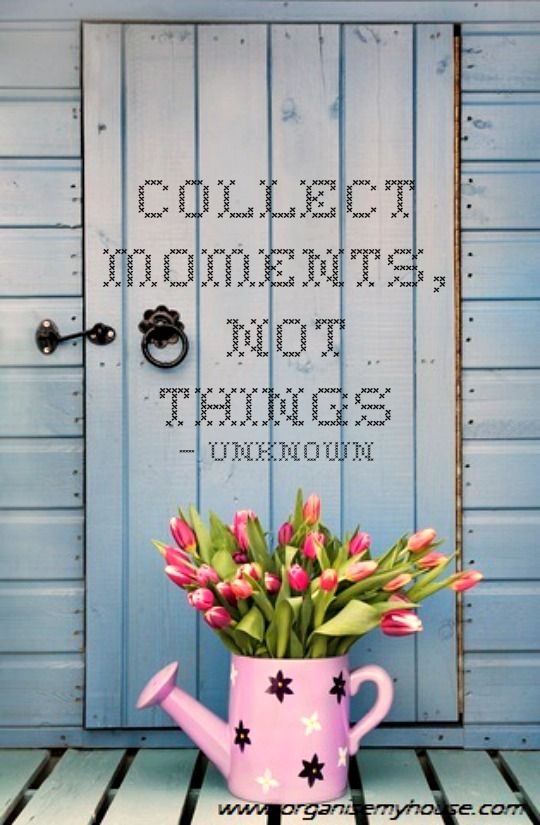 19 best images about decluttering organised quotes on pinterest mondays peter walsh and. Black Bedroom Furniture Sets. Home Design Ideas