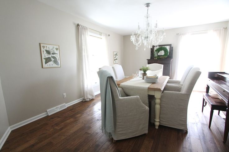 The Best Neutral Dining Room Neutral Paint Color