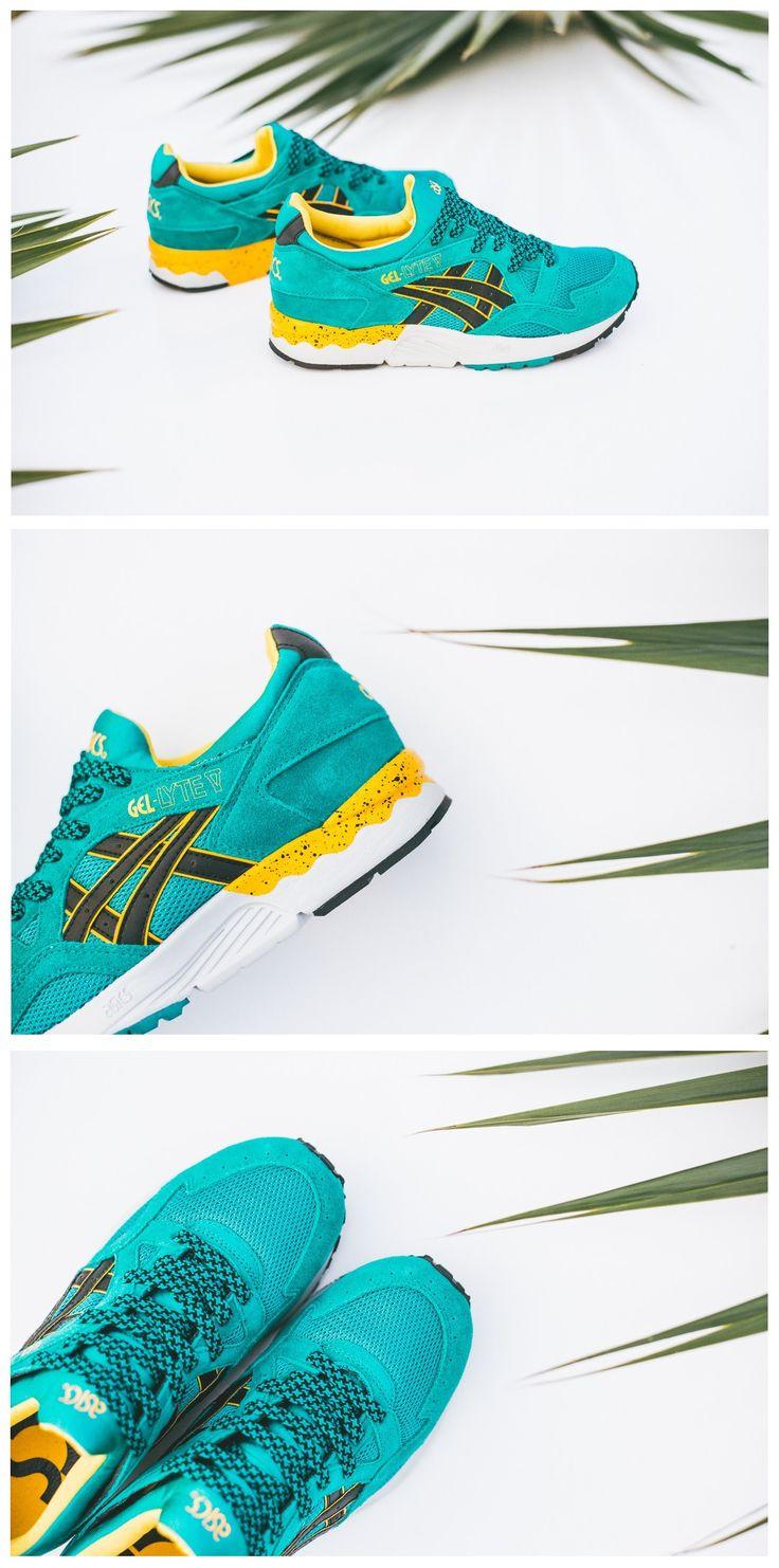 ASICs Gel Lyte V: Tropical Green · Clean ShoesGel ...