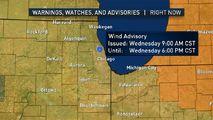 Chicago Area Under Wind Advisory Wednesday - http://www.nbcchicago.com/news/local/Chicago-Area-Under-Wind-Advisory-Wednesday-415655103.html