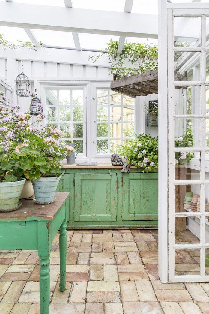 A Gardener S Escape Garten Gewachshaus Raum Im Freien Haus