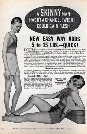 Old Ad's, gain weight