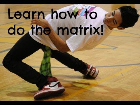 The Best Hip Hop Dance Tricks Tutorial: The Collapse (The Matrix Move) - YouTube