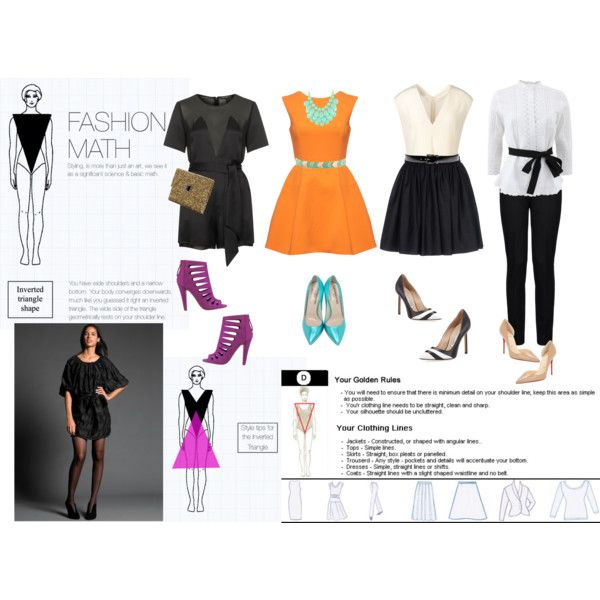 Dress styles for triangle body shape