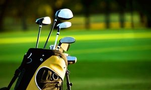 Groupon - Round of Golf with Pull Cart or Unlimited Golf for One, Two, or Four at Beverly Park Golf Course (Up to 52% Off)  in Beverly Park Par 3 Golf Course. Groupon deal price: $8