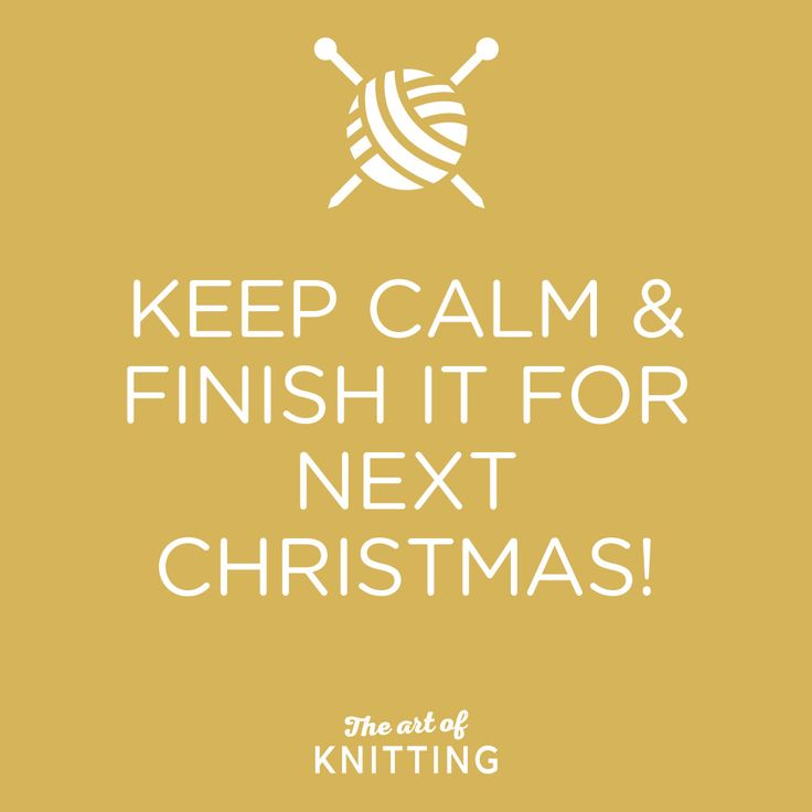 You started yet?! #knit #knitting #artofknitting