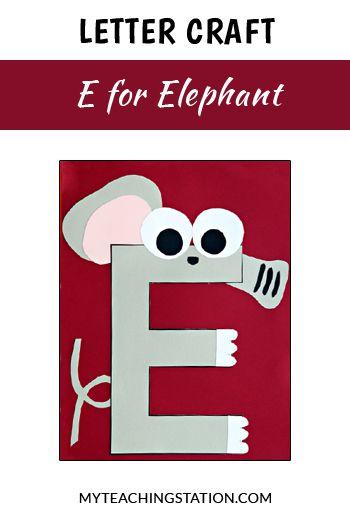 Number Names Worksheets : letter e activities for kindergarten ...
