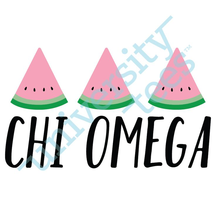 Keeping it fresh | Chi Omega | Made by University Tees | www.universitytees.com