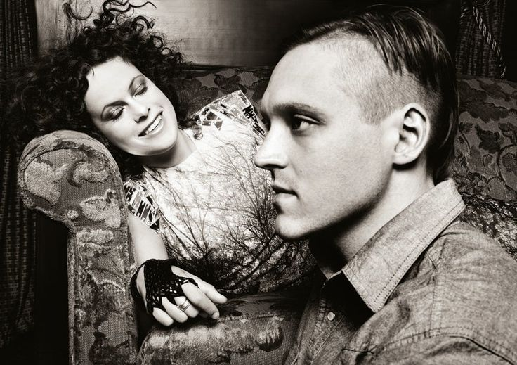 Régine Chassagne and Win Butler of Arcade Fire
