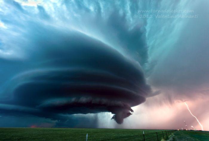 Буря в Техасе. Автор фотографии: Валентина Абинанти.