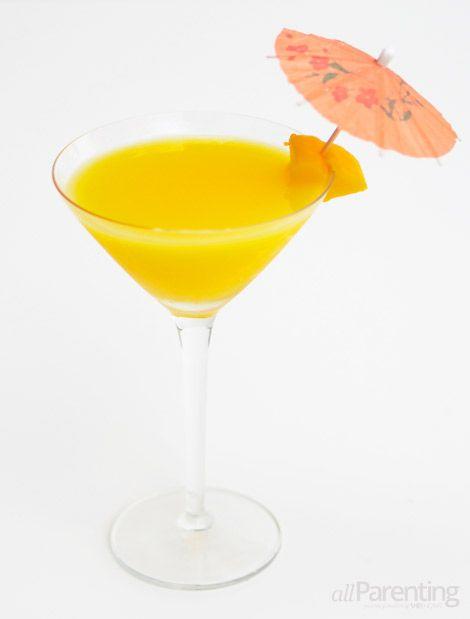 Mango Martini  LOVE mango beverages