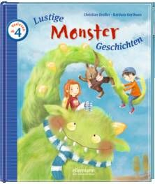 Lustige Monster-Geschichten zum Vorlesen - Dreller / Korthues (ab 4 Jahren)
