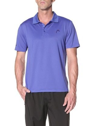 HEAD Men's Core Performance Polo (Dazzling Blue)