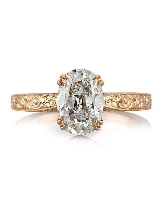 Mark Broumand 2.10ct Oval Cut Diamond Engagement Ring Engagement Ring photo
