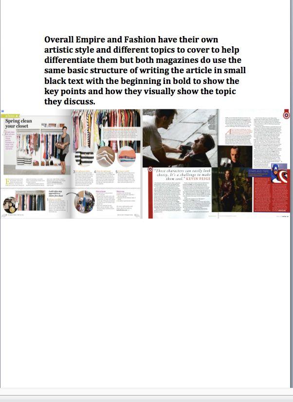 Magazine Comparison P3