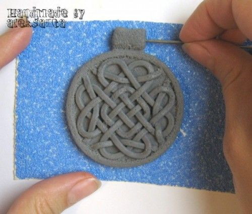 DIY Celtic Necklace Of Polymer Clay | Shelterness