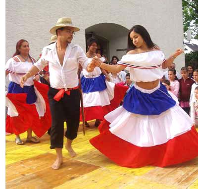 Dominican folkloric dance to Merengue music!