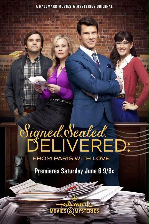 Signed, Sealed, Delivered: From Paris with Love on Hallmark Channel- Premieres 6/6/15.