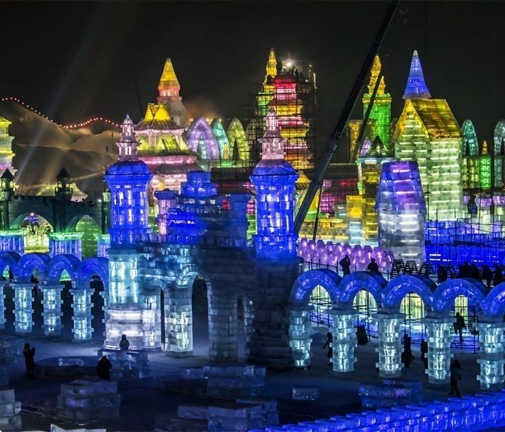International Ice and Snow Sculpture Festival— Harbin, China | TOP 10 World Legendary Festivals You Don't Want To Miss