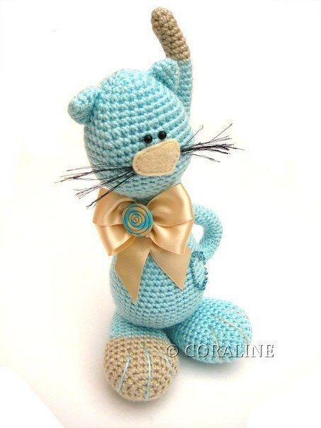 Kotick. Brinquedos de crochê