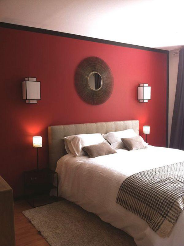 Agresivo Color Bermellon En Paredes 10 Aciertos Mil Ideas De Decoracion Dormitorios Colores De Casas Interiores Colores Para Dormitorio