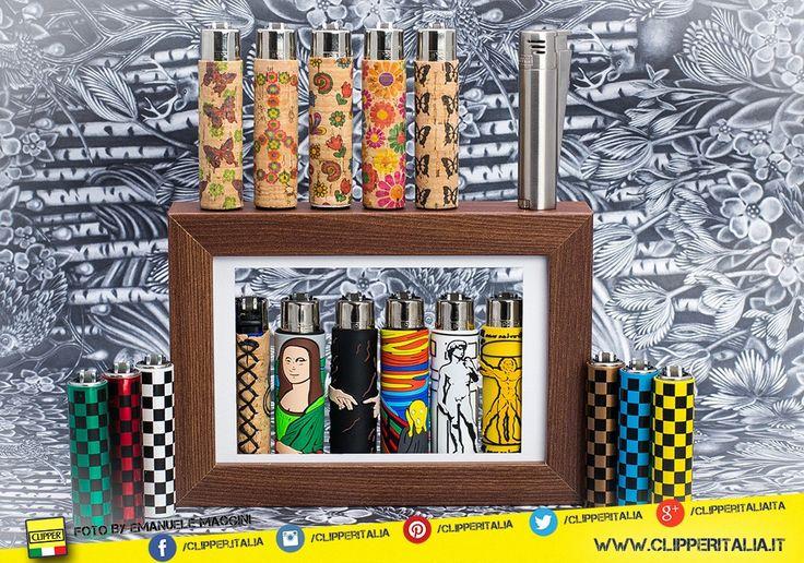 Serie sughero  +  serie metal case  +  serie pop art  = ❤ CLIPPER LOVE ❤