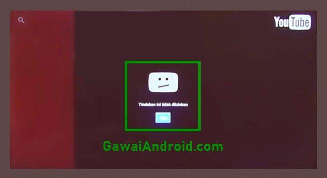 Cara Memperbaiki Youtube For Android Tv Error Di Stb Indihome Youtube Android Aplikasi