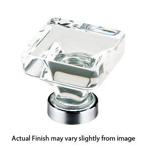 lido clear crystal cabinet knob by emtek