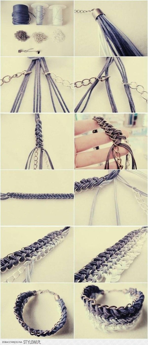 cool braided bracelet turorial