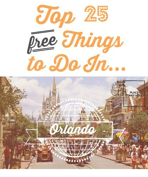 25 free things for the family to do in Orlando! Stay here (stay n save  - not free) www.orlandocondoatlegacydunes.com