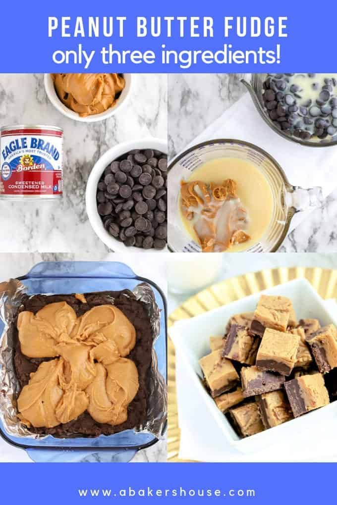Chocolate Peanut Butter Fudge Is A Smooth And Creamy Fudge Made With Only Three In Chocolate Peanut Butter Fudge Peanut Butter Fudge Peanut Butter Fudge Recipe