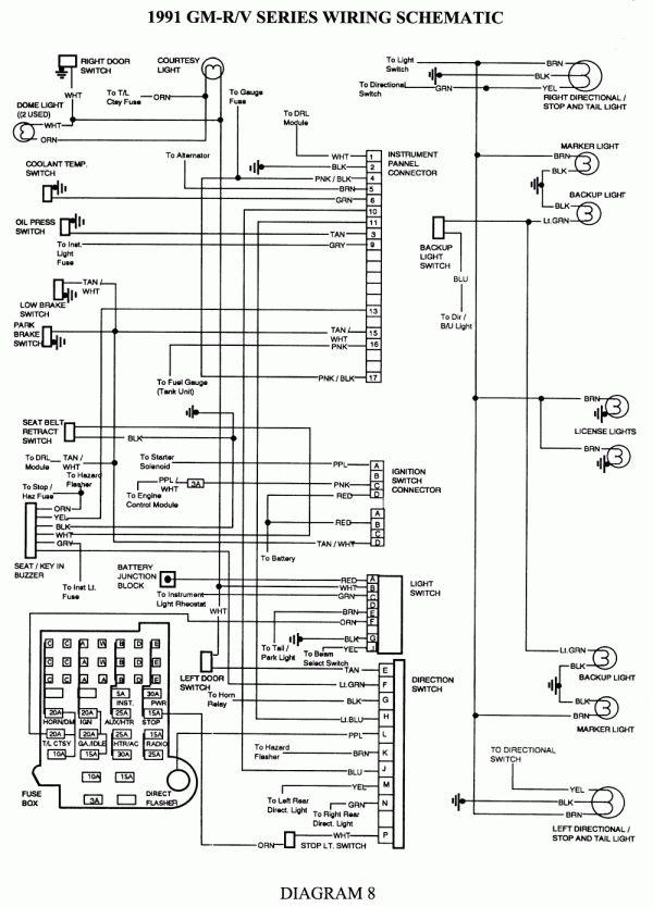 18 91 S10 Truck Radio Wiring Diagram Trailer Wiring Diagram Chevy Trucks Chevy 1500