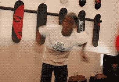funny dance dancing moves happy dance party hard odd future tyler the creator trending #GIF on #Giphy via #IFTTT http://gph.is/1QyNrUd
