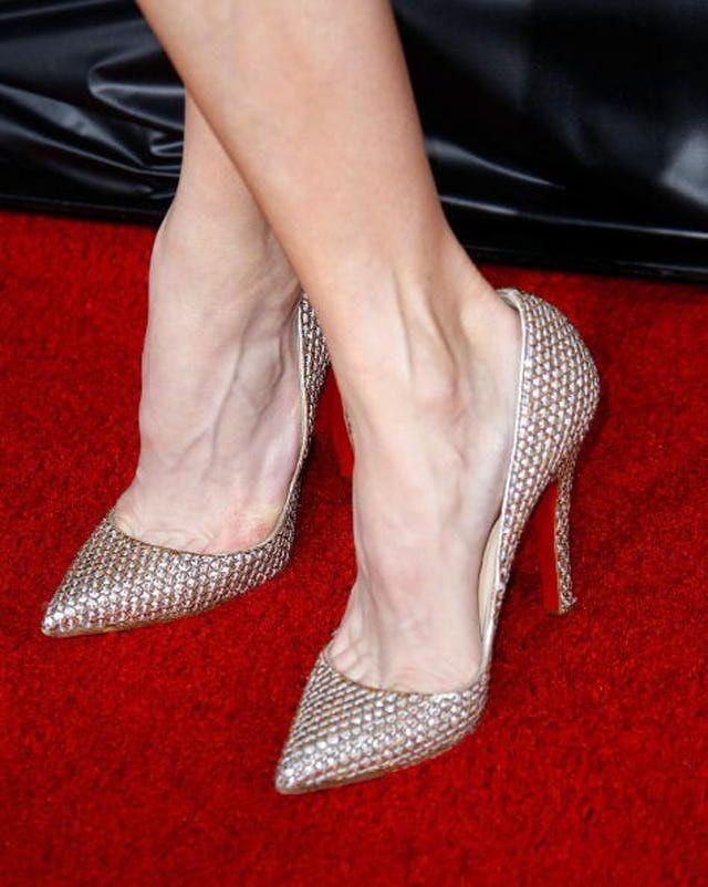 Celebrity High Heels: Neutral High Heels