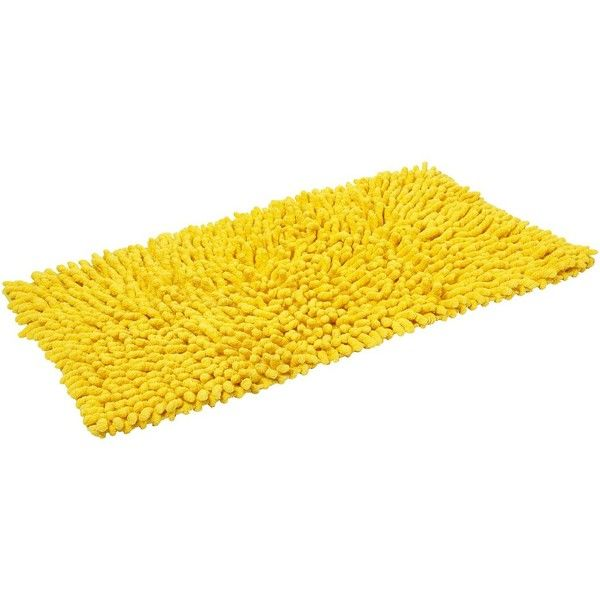 Bright Yellow Bathroom Rugs Roselawnlutheran - Bright bath mat for bathroom decorating ideas