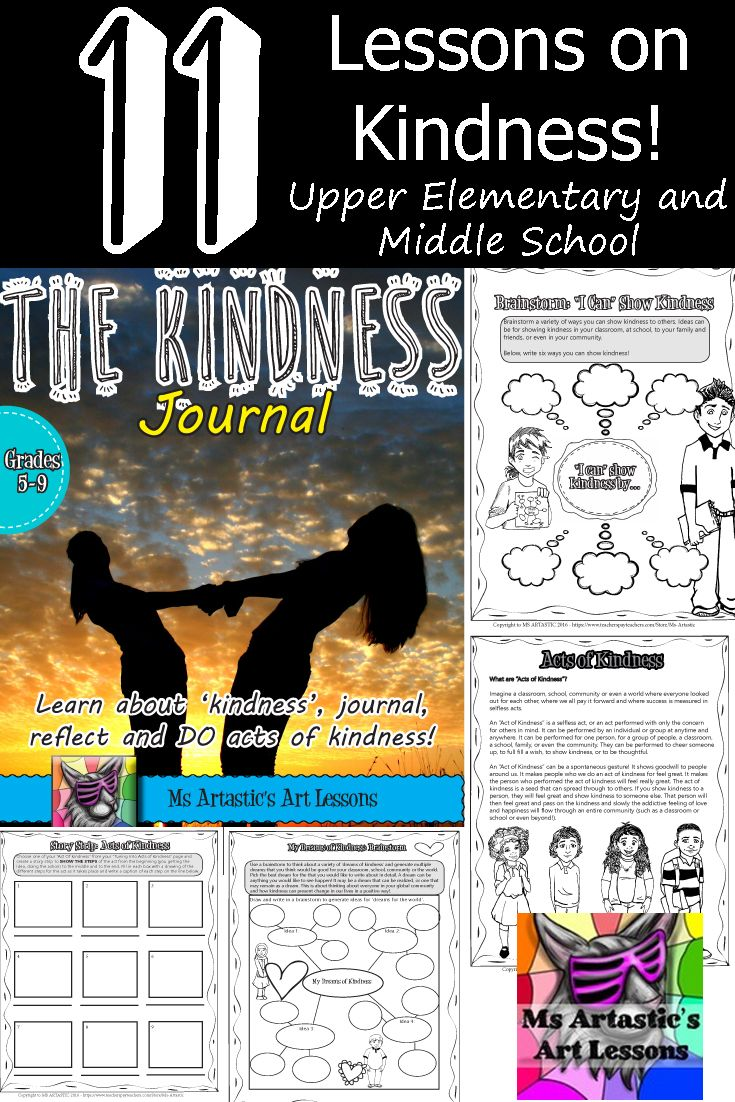 Kindness Journal: Learn, Journal, Reflect And Do Acts Of Kindness