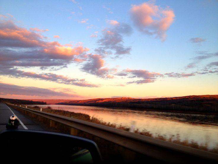 The Peace River, Alberta