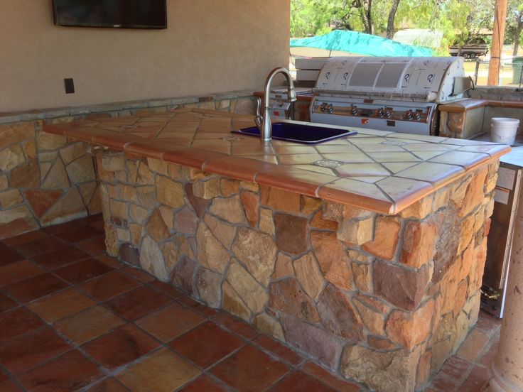outdoor kitchen tile 17 best images about antique terra cotta tile on 1309
